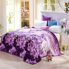 【邮】逸轩家纺  四季毯子法兰绒保暖床单舒柔亲肤毯200*230CM