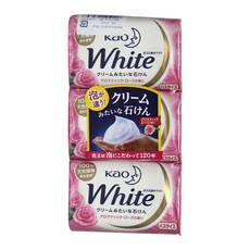 花王/KAO 香皂 3块/条 日本原装进口清洁毛?#22918;?#28287;1条