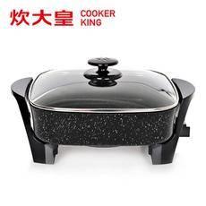 炊大皇/COOKER KING K30烧烤炉 韩式电烧烤炉电?#35033;?#30005;炒锅电火锅 无油烟不粘锅