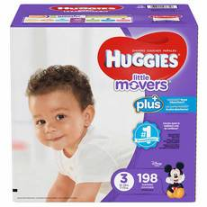 好奇/Huggies Little Movers Plus+ 尺寸3