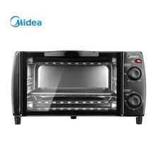 美的/MIDEA 家用电烤箱 迷你小烤箱 10L容量  黑色