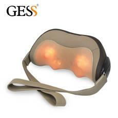 GESS  德国品牌 腰背部按摩靠垫 颈椎按摩枕 多功能按摩器 GESS128