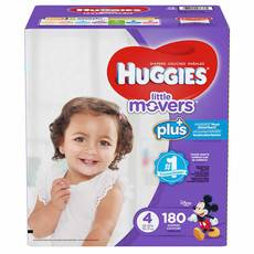 好奇/Huggies Little Movers Plus+ 尺寸4
